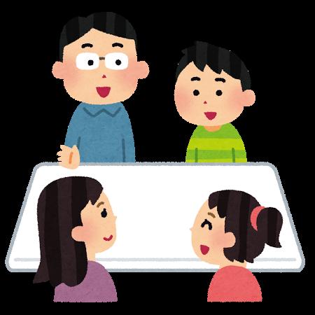 青森県弘前市への移住の流れ 1.まずは家族に相談
