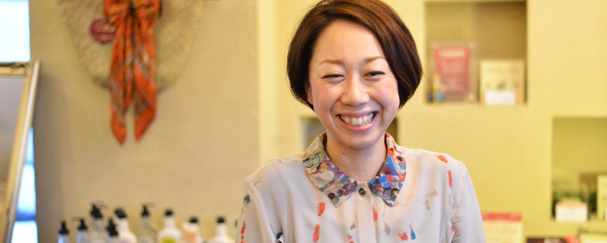 弘前ぐらし 移住者インタビュー セレクトショップage店長 奈良岡れい子さん