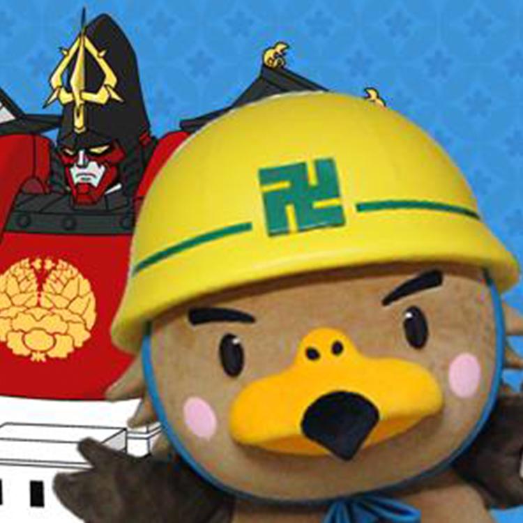 弘前市のマスコットキャラクター「たか丸くん」のSNSアイコン